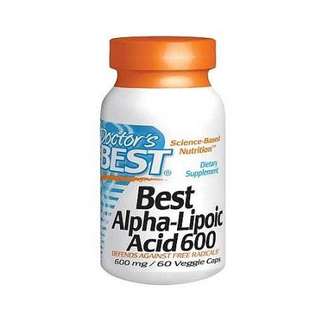Doctor's Best ácido alfa lipoico 600 mg 60 Ct