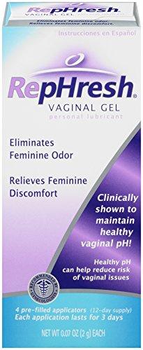 Gel Vaginal RepHresh, 0,07 onzas, 4 precargados aplicadores
