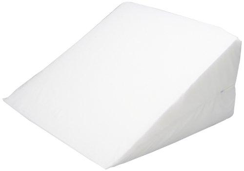 Hermell productos cuña de cama de 12 pulgadas con tapa blanco