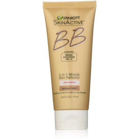 milagro Skin Perfector Crema Antienvejecimiento BB Medium - profundamente 25 oz (Pack de 4)