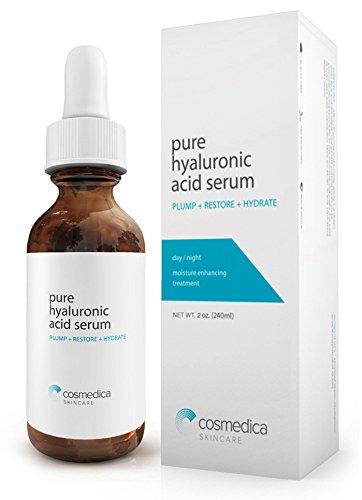 Más vendido suero de ácido hialurónico para la piel - 100% pura alta calidad, Anti-Aging Suero--hidratación intensa + crema hidratante, no grasa, suero de ácido hialurónico gratis, mejor vegano Paraben (fórmula de la Pro)