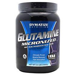 Micronized de Dymatize glutamina 35,2 oz (2,2 lb)