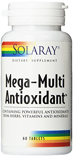 Solaray Mega-Multi antioxidante cápsulas, cuenta 60
