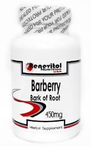 Corteza de agracejo raíz 450mg 180 cápsulas de ~ Renevitol
