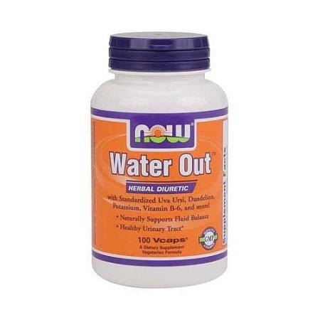 NOW Alimentos - Salida de agua de hierbas diuréticas - 100 cápsulas vegetales