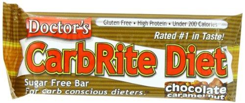 Barras de universal nutrición Carbrite Bar dieta, tuerca de caramelo Chocolate, 2 oz., Pack 12