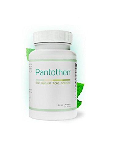 Suplemento cuidado de piel pantenol - 120 tabletas