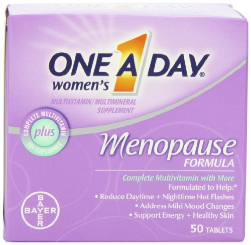 La menopausia Fórmula multivitamínica, tableta de 50 botella uno-A-día de la mujer