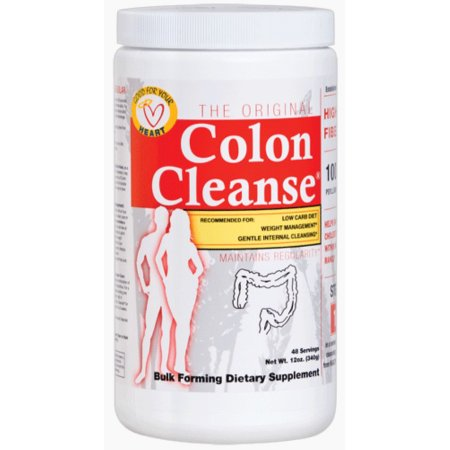 Health Plus limpieza de colon en polvo sabor natural 390 mg