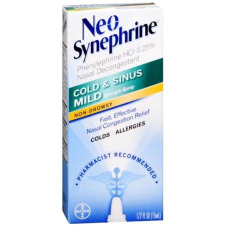 6 Pack - Neo-Synephrine aerosol leve 15 ml