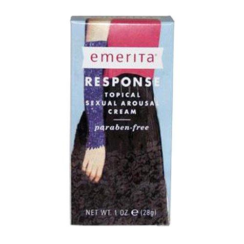 Respuesta Emerita excitación Sexual tópica crema, botella de 1 onza