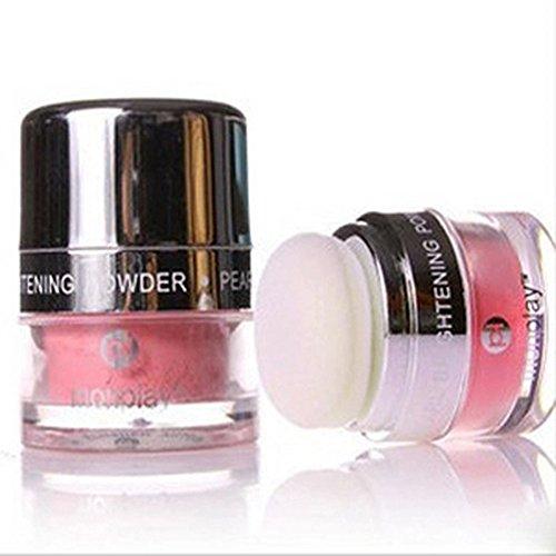 Spritech(TM) profesional del maquillaje cosmético mejilla Color perfecto para maquillaje Lady Peachpink