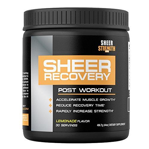 PURA recuperación: El mejor Post entrenamiento suplemento constructor de músculo - Science-Backed fórmula con Premium BCAA, creatina, glutamina y L-carnitina - 486 gramos, 30 porciones