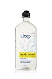 Baño cuerpo obras aromaterapia Sleep Lavanda manzanilla 10 oz Body Wash baño de espuma