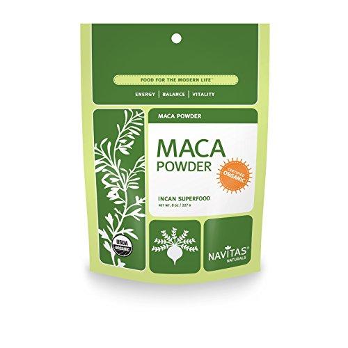 Navitas Naturals Organic Maca polvo crudo, 8 onzas