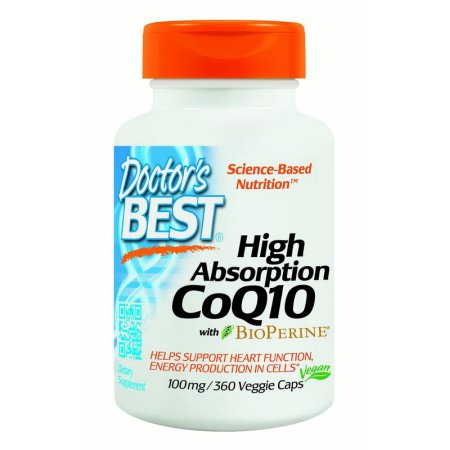 Doctor's Best Alta absorción CoQ10 100 mg, 360 Ct