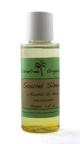 Orgánica sueño ayuda - dormido (una mezcla de aceite relajante con manzanilla) - orgánico, sano, no tóxico dormir ayuda