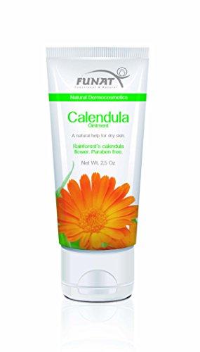 FunAt Calendula ungüento curativo cicatrizante Natural ayuda para seca piel 2.5 Oz