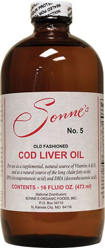 Sonne's Old Fashioned Cod Liver Oil No5 480ml