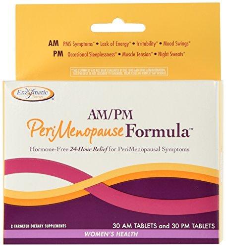 Terapia enzimática Peri menopausia fórmula de AM/PM, tabletas 60ea