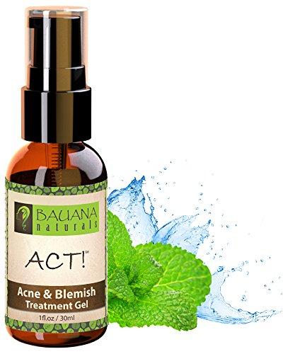 Ley! mejor acné Spot Treatment Gel - ácido salicílico 2% + Bruja Hazel - para adolescentes, adultos, Hormonal y quística acné, hombres y mujeres - deshacerse de las cicatrices del acné, espinillas, manchas y espinillas - Natural y orgánico