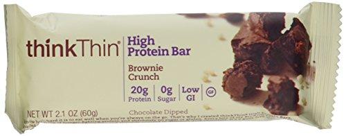 thinkThin Brownie crujiente (paquete de 10), 2 paquete