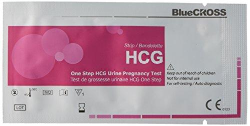 Babi un paso HCG tiras prueba de embarazo de orina, recuento de 25