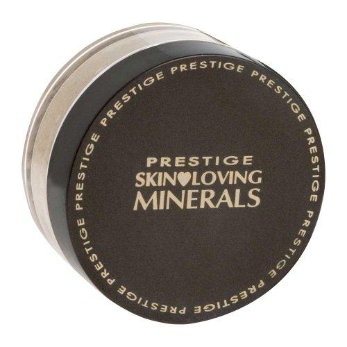 Piel de cosméticos de prestigio amar minerales suave acabado base en polvo Mineral, Feria, 0,23 onza