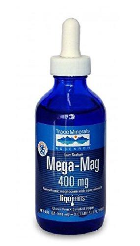 Traza de minerales investigación LMM01 - magnesio líquido de Mega-Mag, 4 onzas (paquete de 3)