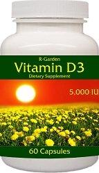 IU de vitamina D3-5.000