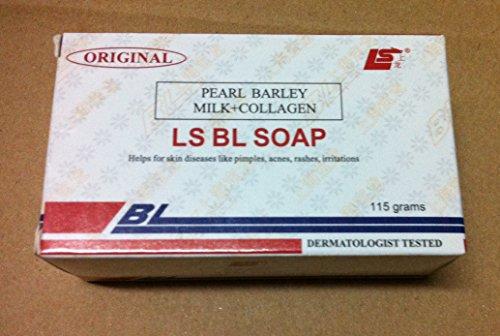 BL original de LS jabón (leche de cebada perlada + colágeno) 115g