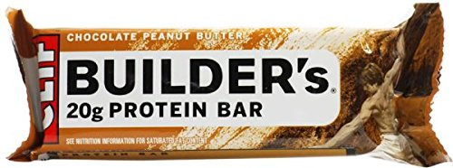 CLIF BUILDER - barra - mantequilla de maní de Chocolate - (2,4 oz, cuenta 12) de proteínas