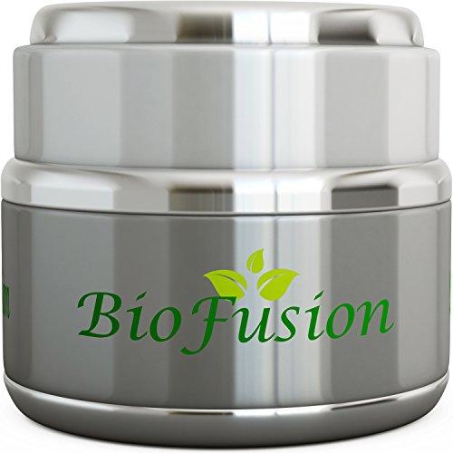 Advanced crema de ojos Natural para ojeras y bolsas reparación - piel sensible seguro con ingredientes puros + complejo de péptidos y antioxidantes - reductor de arrugas Anti envejecimiento para hombres y mujeres de Biofusion