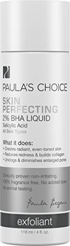 Opción de Paula piel perfeccionamiento BHA 2% ácido salicílico líquido exfoliante para puntos negros y agrandamiento de los poros - 4 oz