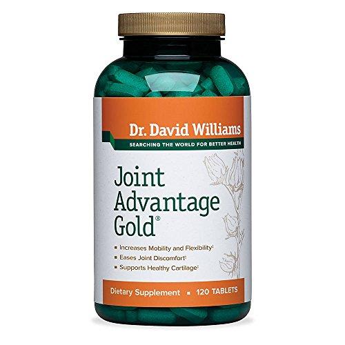 Ventaja conjunto oro dolor alivio suplemento Dr. David Williams, 120 tabletas (suministro de 30 días)