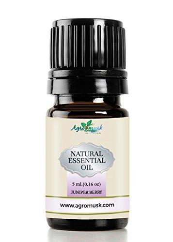 Juniper Berry aceite esencial puro grado terapéutico 5ml por Agromusk