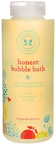 La compañía honesta - honesta burbuja baño sueño de la mandarina - 12 oz.