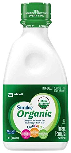 Fórmula de bebé orgánica de Similac - Ready to Feed - 32 fl oz - 6 pk
