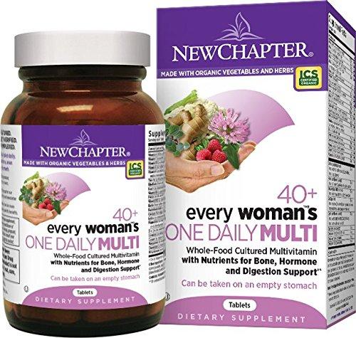 Nuevo capítulo uno 40 + multivitamina de la mujer cada - ct 72