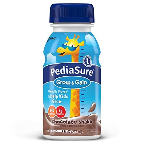 PediaSure nutrición bebe, Chocolate, botellas cada 8 onzas de líquido (paquete de 24) (embalaje puede variar)