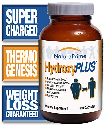 HydroxyPLUS - pérdida de peso rápida - No nerviosismo - energizada! -180 cápsulas - garantizados!