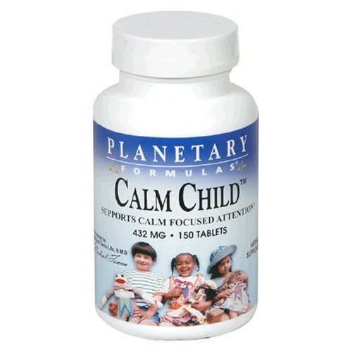 Planetario fórmulas tranquilo niño, 432 mg, tabletas, 150 tabletas (paquete de 3)