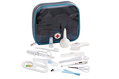 El primer años de la Cruz Roja Americana del bebé salud y Kit de aseo