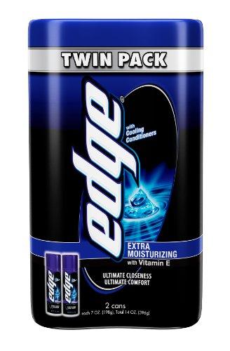 Borde doble Pack Gel de afeitado, Extra hidratante, cuenta 2