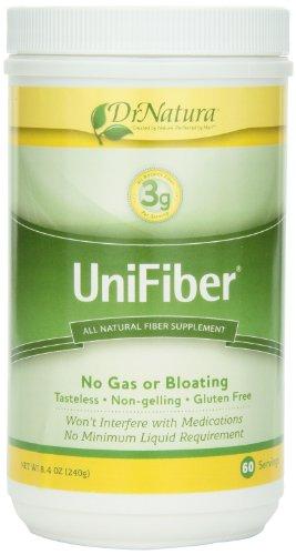 Drnatura Unifiber, suplemento de fibra Natural, 8.4 onzas
