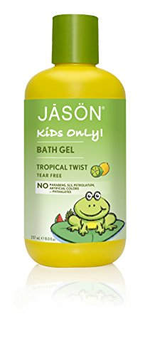 JASON Kids Only, Gel de baño toque Tropical, 8 onzas