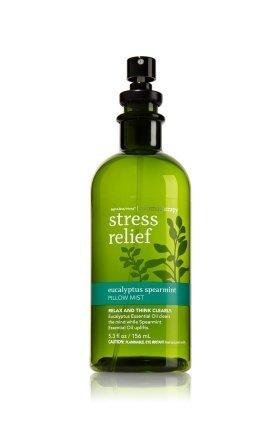 Baño y cuerpo funciona aromaterapia eucalipto menta estrés socorro almohada niebla 5,3 Oz