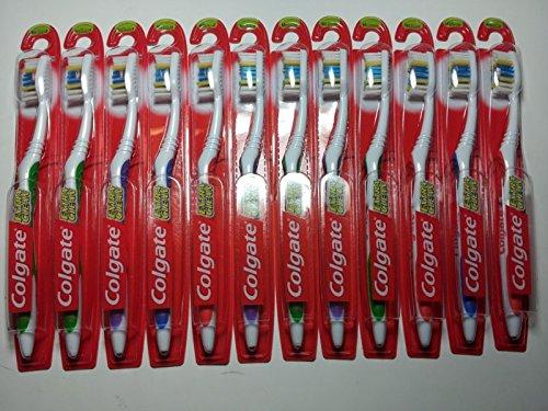 Colgate Extra Limpie el cepillo principal completo, mediano #41, paquete de 12