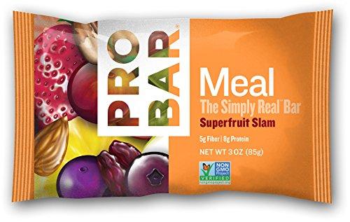 ProBar comida Bar simplemente Real, superfrutas, 3 onzas (Pack de 12)