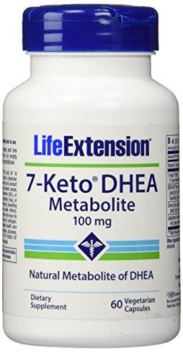 Vida extensión 7 Keto Dhea 100 Mg Veg Cap, 60-Conde